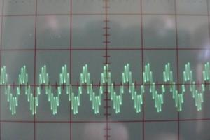 first sine wave